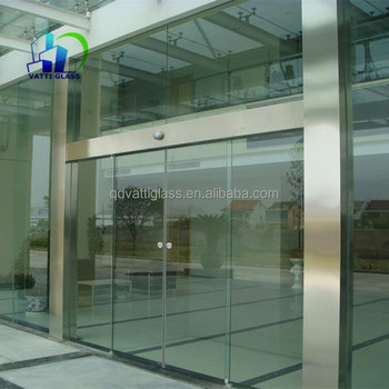 Frameless Sliding Doorglass Partitiontempered Glass Sliding Gate