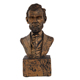 arts and crafts resin Lincoln bust statue hand made resin figure for home decor 159009