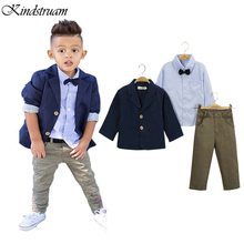 2016 Formal Suits for Boys European American Style Kid s Clothing Sets for Wedding Blazer Shirt