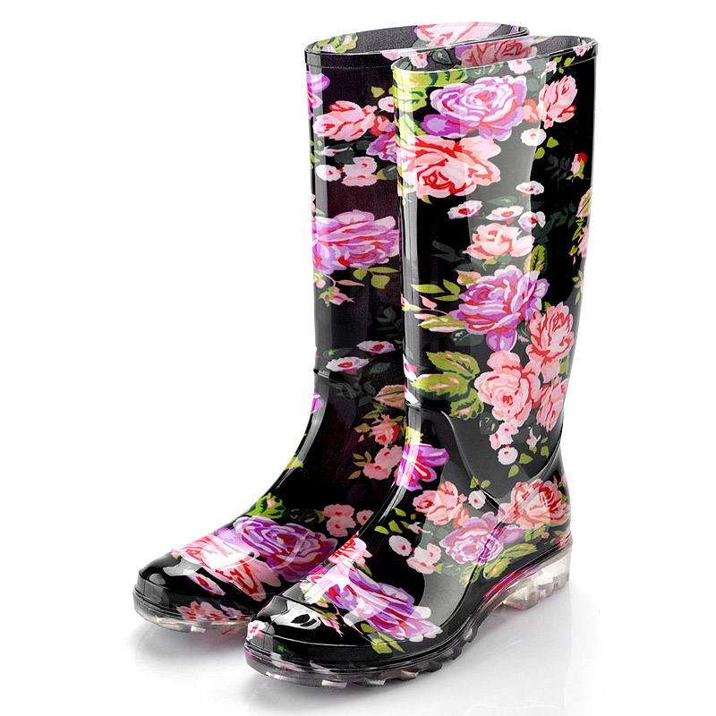 Clear Black Sole Rain BootsCamo Rain Boots For WomenBoy Cheap