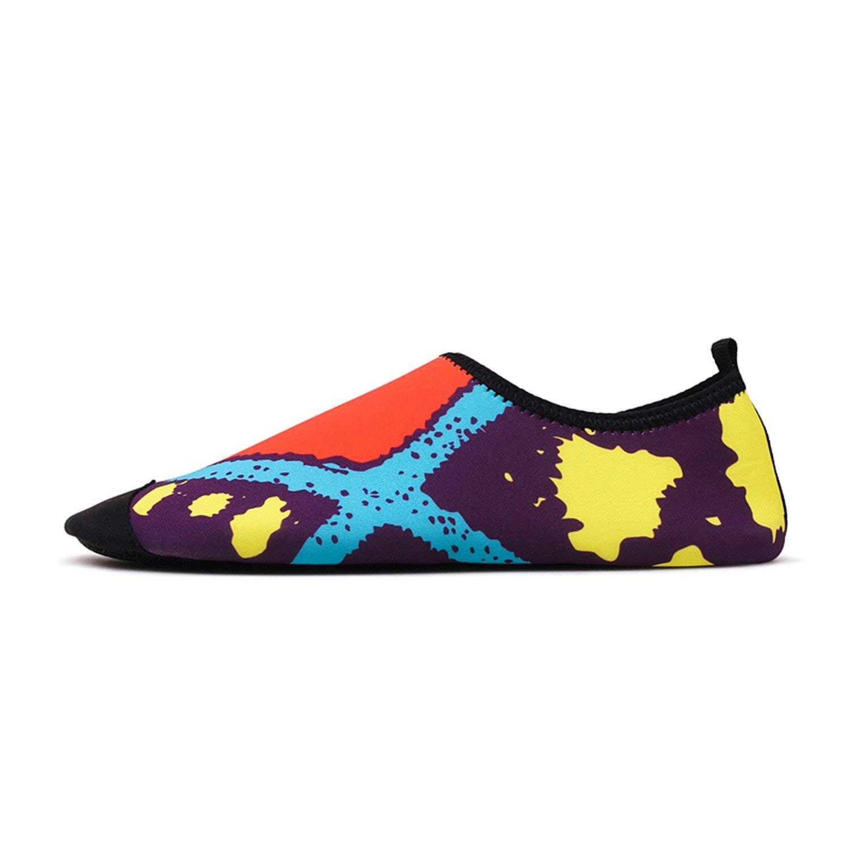 89176a5b14e8 Get Quotations · Coac3 Men Water Shoes Women Outdoor Beach Shoes Barefoot  Skin Shoes Unisex Flat Size 35-
