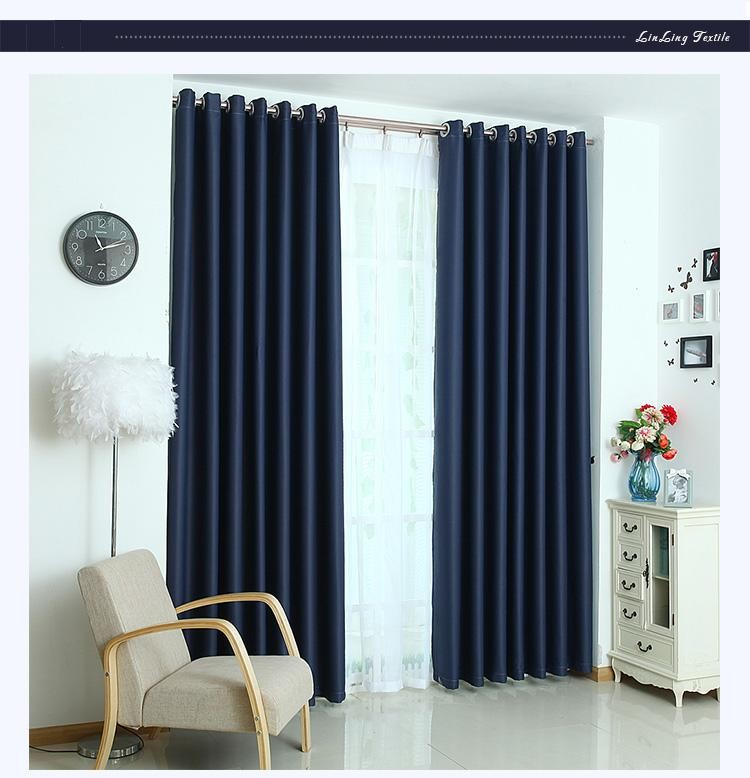 European Style Living Room Bedroom Curtain High-grade