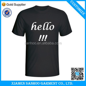 Factory Price Direct Sale Custom Clothes Rubber Print On T-Shirt Top Quality