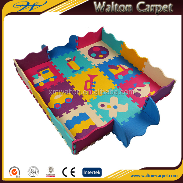 Little musican best quality modern pattern cute eva foam jigsaw mats