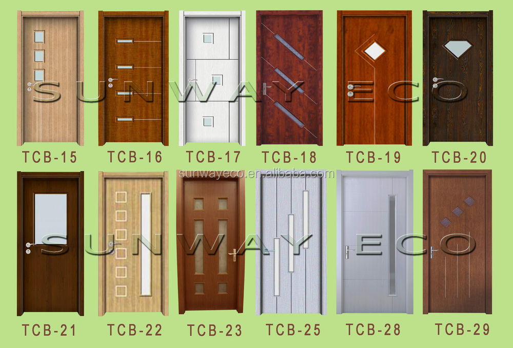 2015 Good Quality Apartment Flat Entry Door Wpc Door For Iraq And ...