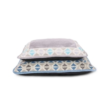 Wholesale high quality polyester plaid custom pet dog bed pillow