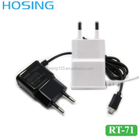 Travel/Home Charger Output DC 5V 2A Input AC 110-260V Phone Adapter Data Cable Micro USB/8 Pin