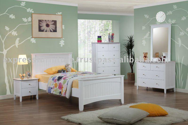 Blanco muebles de dormitorio conjuntos de muebles para - Dormitorio muebles blancos ...