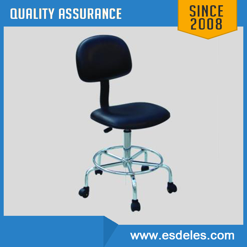 ESD lab chair with Armrest Footrest
