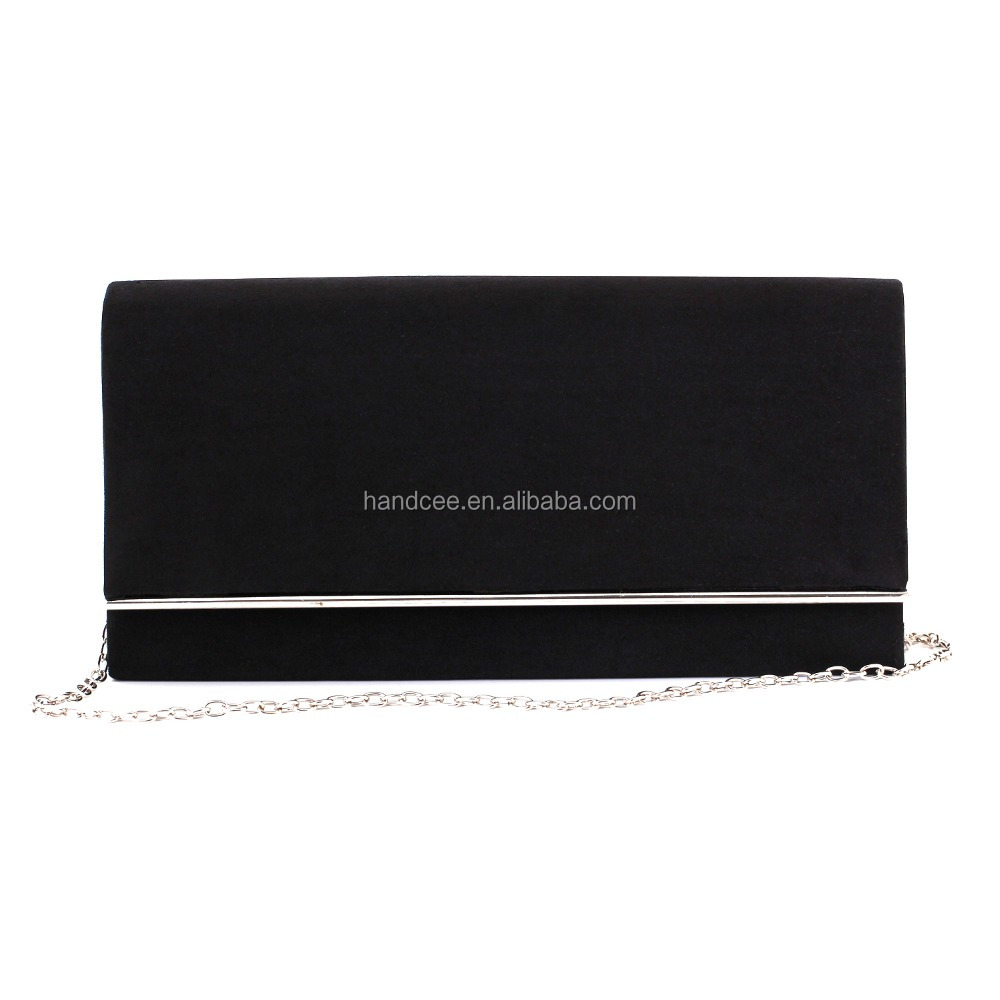 Unique new style lower wholesale price Black PU leather handbags vietnam