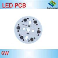 Aluminium Round Led Pcb 6w 40mm