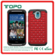 [TOPO]For HTC desire 526 bling glitter pc silicon shockproof antiskid rubber mobile phone case