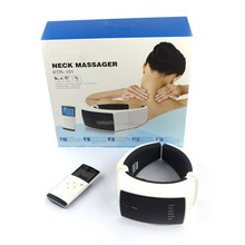 Online shopping heating vibrating pulse magnetic Magnet Therapy Cervical vertebrae pain relief comfortable massager