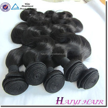Customized Package Immediate Delivery Wholesale No Tangle No Shedding Thick Ends 100% Unprocessed 8A Virgin Indian Body Wave Hai