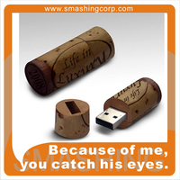 Cork USB/Wine accesories Promotional Gift/ECO Recycled Wooden USB
