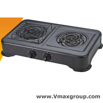 Large Electric Stove 110v Double Burner Cooking Coil Stoves For South American Market