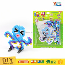 2017 new plastic beads diy animal craft beads kits fuse beads kids handmade toy