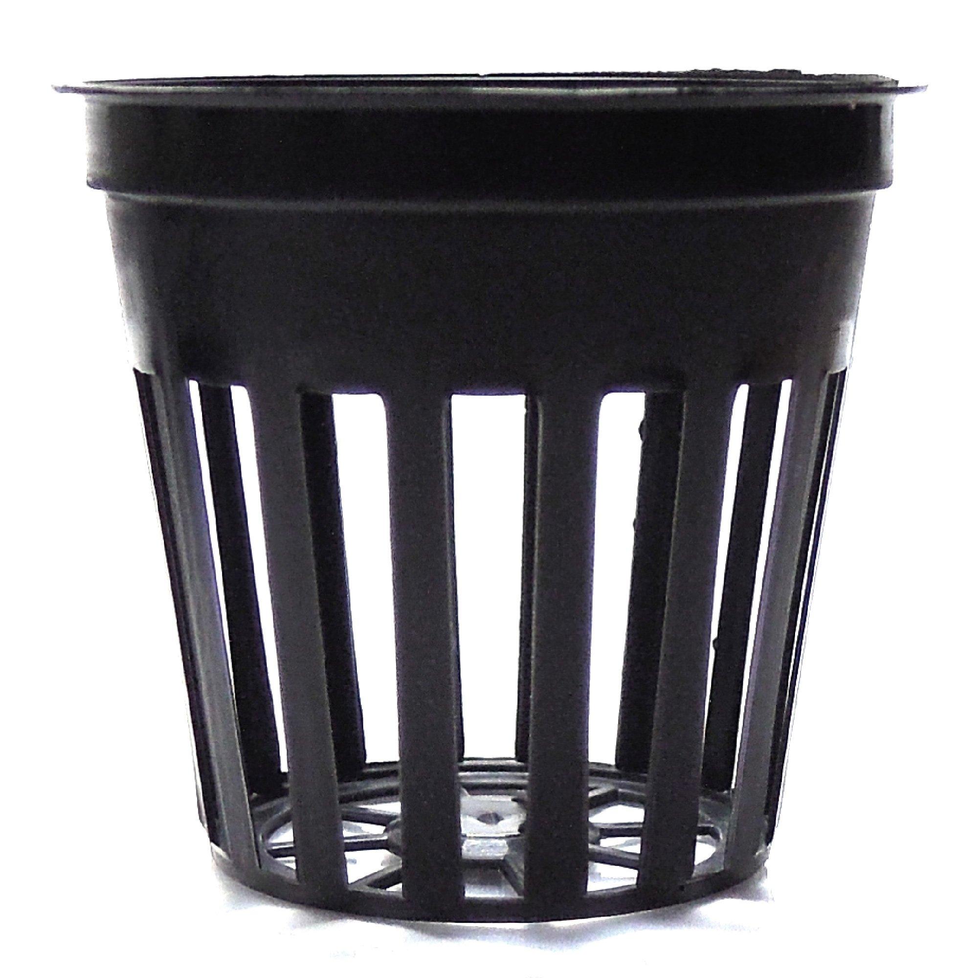 100 2 Inch Net Slit Pots for Hydroponic Aeroponic Use