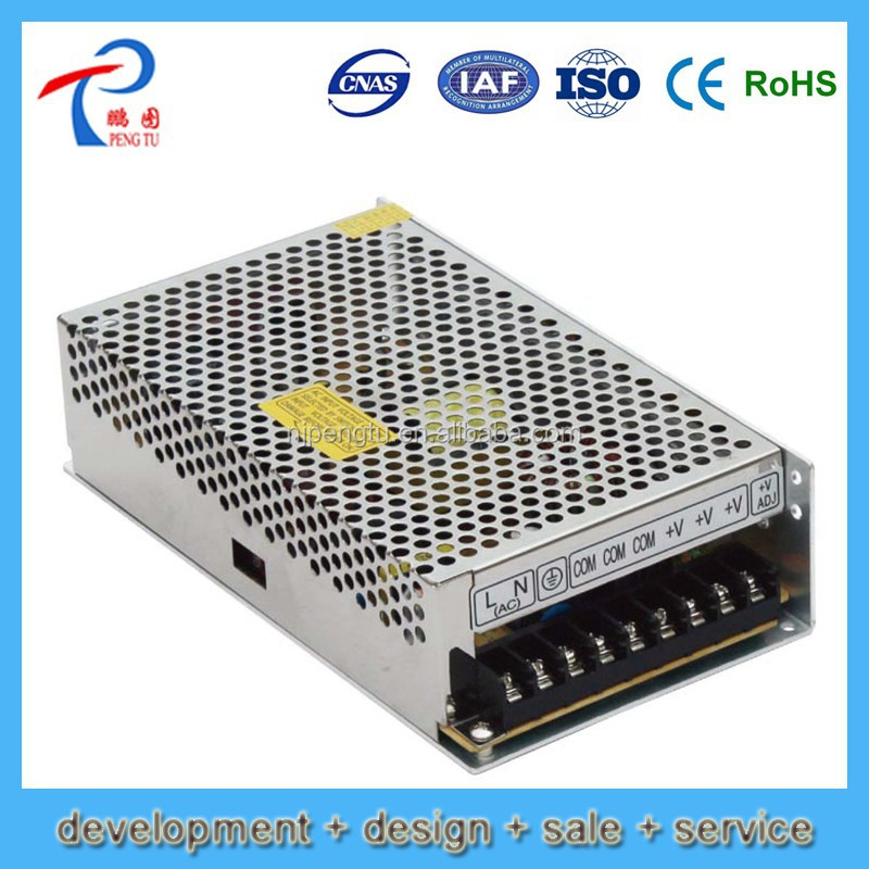 P150-250-F Series factory direct 12v dc input atx power supply