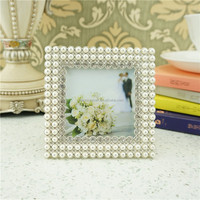 Pewter Pearl China Classic Housewares Wedding Photo Frame