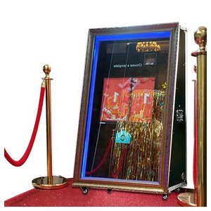 2019 Party cheap diy magic photobooth smart touch screen mirror photo booth