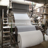 Waste Paper Wood Pulp 787mm Toilet Paper Making Machine Price Tissue Paper Machine Production Line