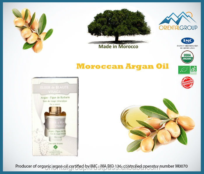 Elixir of Beauty for Face Argan & Prickly pear