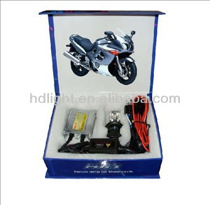 China factory!!!slim ballast motorcycle HID kits/xenon super white halogen motorcycle bulbs