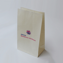 Customized disposable sickness bag paper barf bag