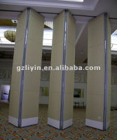 used office wall partitions sliding door folding doors movable partition for hotel/ conference room/ library/ gymnasium/ banquet