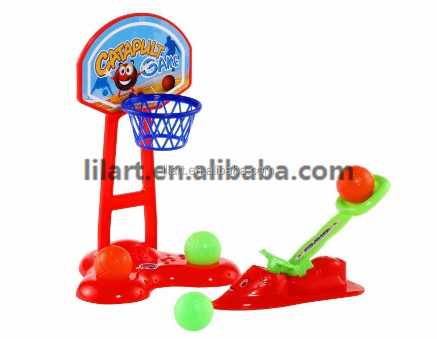 Mini Plastic Table finger basketball and football game toy set for kids craft
