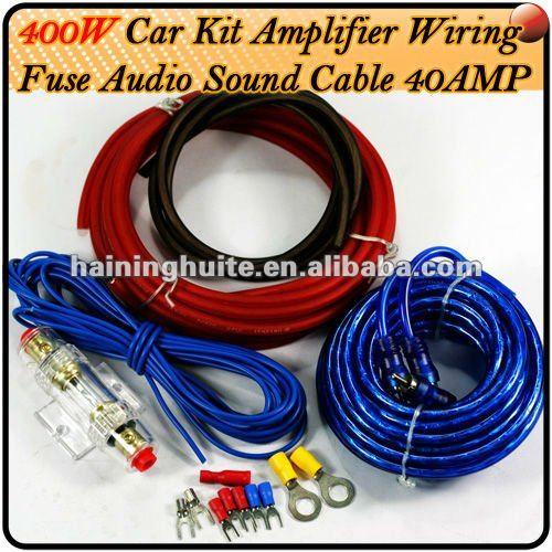Car Auto Amplifier Audio Sound Wiring Buy Car Audio System Wiring