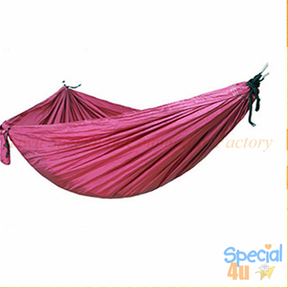 SPAD-314 Factory Direct Sale Cheap High Quality Knit Camping Hammock Lightweight Folding Military Hammock