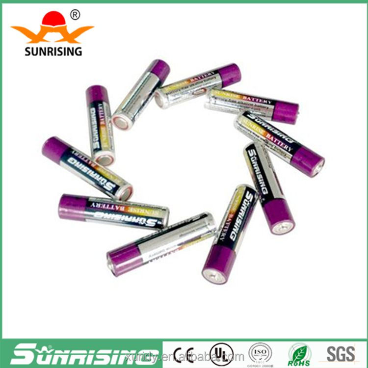 Lr03 Zn/MnO2 1.5v aaa alkaline battery for toy helicopter