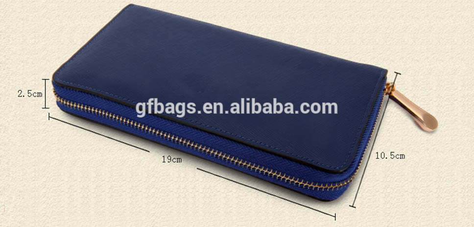 2020 new arrival Embossed Genuine Leather women long Wallets zipper luxury design Pure color ladies phone card cash girls purses