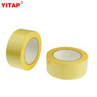 UV-resistant Yellow Masking Tape 2 Inch For Painting Walls Woodwork Glass