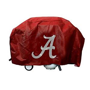 NCAA Licensed Deluxe Grill Covers - Alabama Crimson Tide