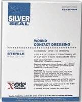 "Silverseal Wound Contact Dressing, 4 1/4"" X 4 1/4"""
