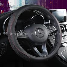 material heated leather car steering wheel cover