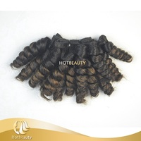 New Style Indian Aunty Funmi Hair Bouncy Curls For Women
