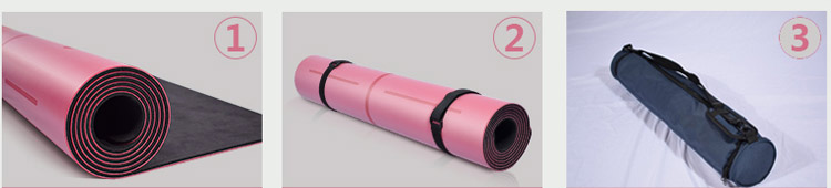 Recycled Design Single Color TPE Eva Yoga Mat Eco Friendly Manufacturer Usa