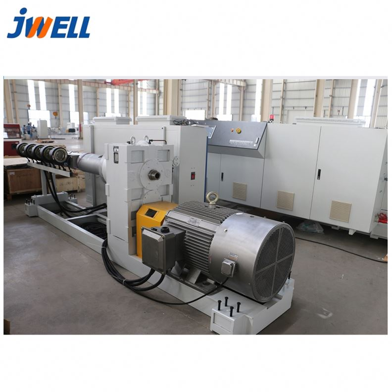 Jwell PVC160 hoge automatisering pvc stevige muur pijp extruder machine