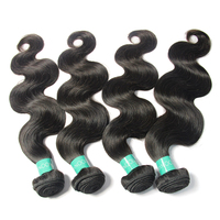 NEWEST good quality cheap price natural body wave factory supply hair extension