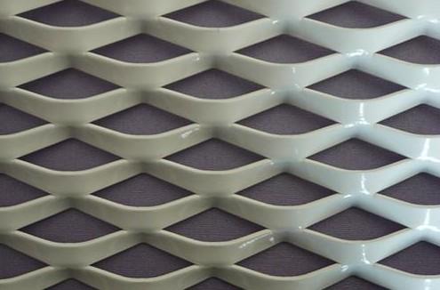 Pvc Coated Decorative Aluminum Expanded Metal Mesh Panels ...
