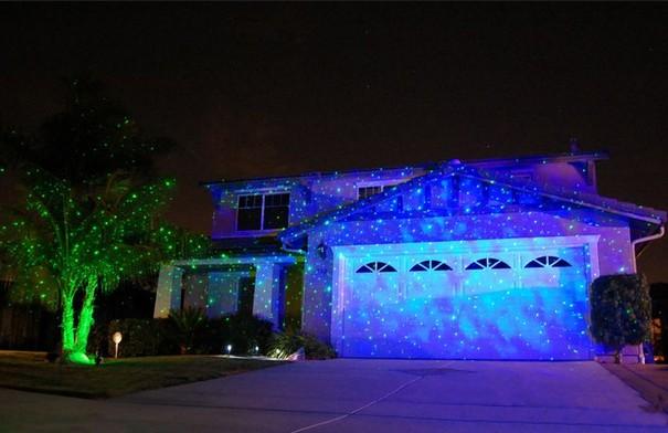 Stellato luci laser proiettore laser per esterno giardino partito