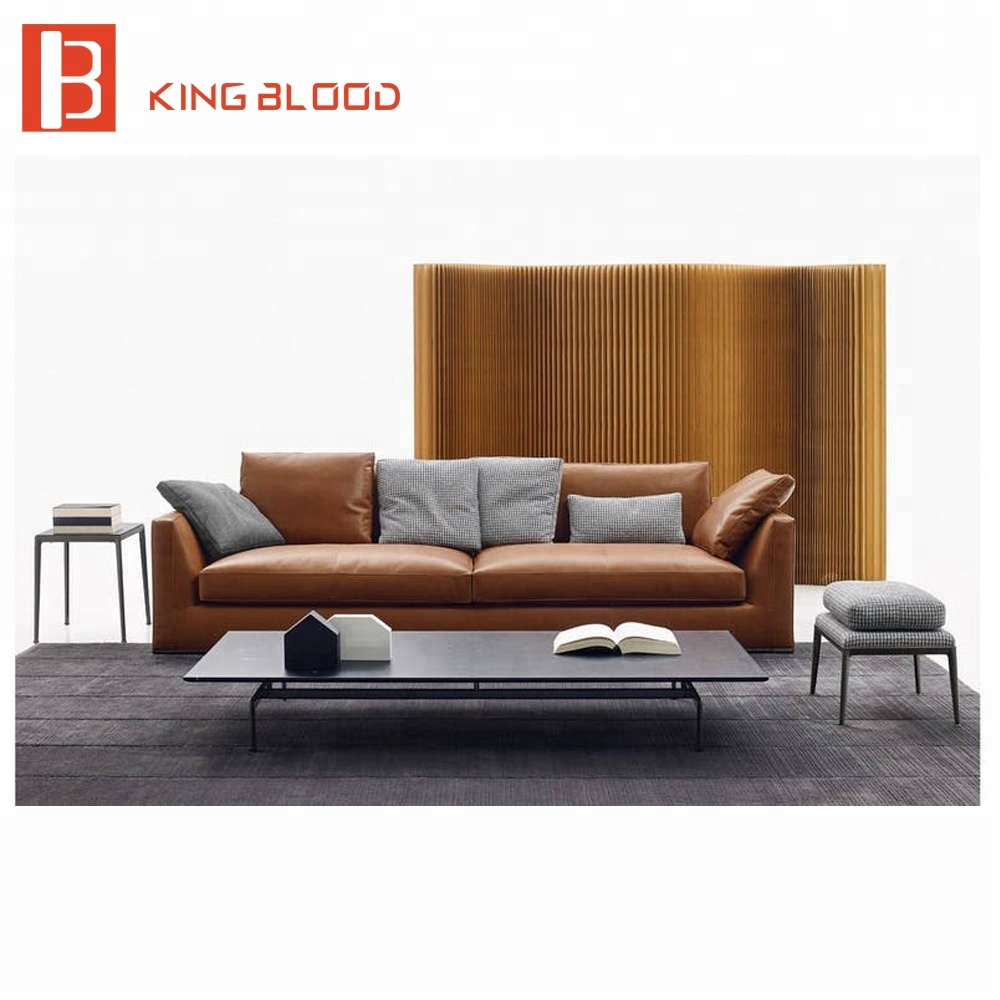 American Corner Chaise Living Room Furniture Leather Lounge Suites