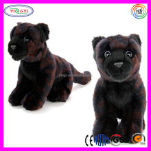 D546 Padrões Leopard Impresso Animal Panther Stuffed Plush Toy Black Panther