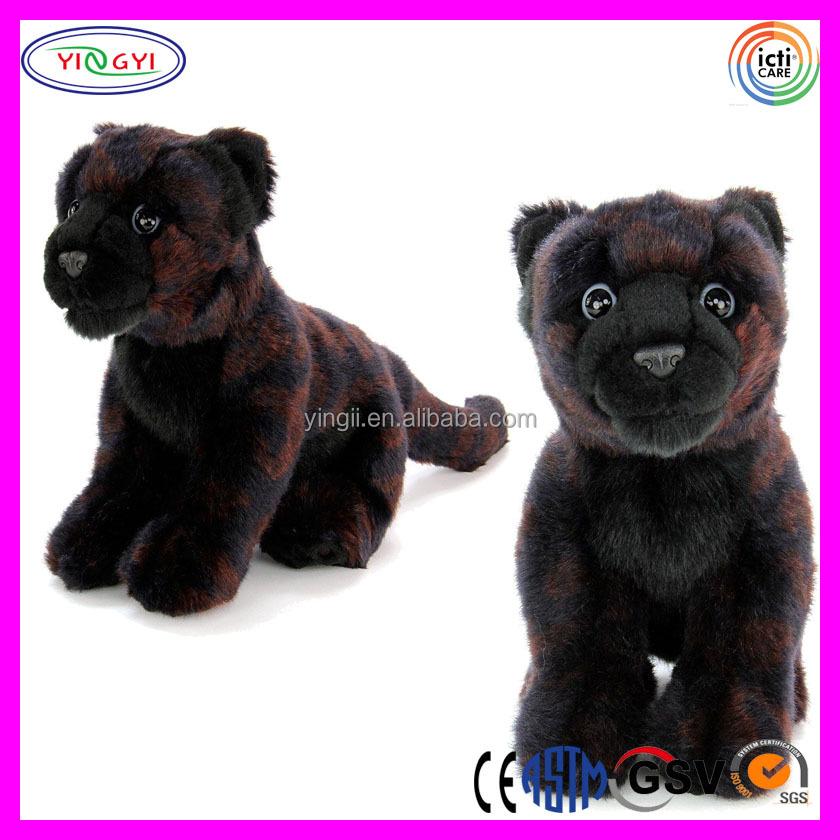 D546 Patrones De Leopardo Impreso Animal Panther Peluche Pantera ...