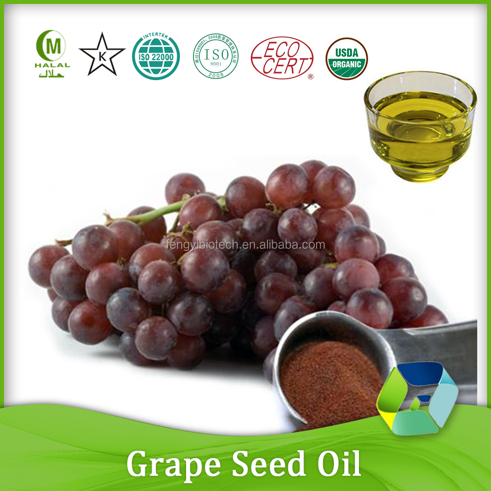 high quality cosmetic carrier oil bulk grape seed oil for sale