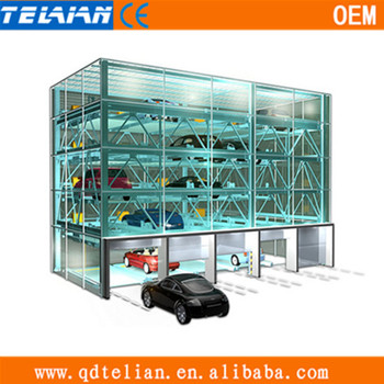 Automatically Vehicle Moving Elevator For Car Parking,Car Parking ...